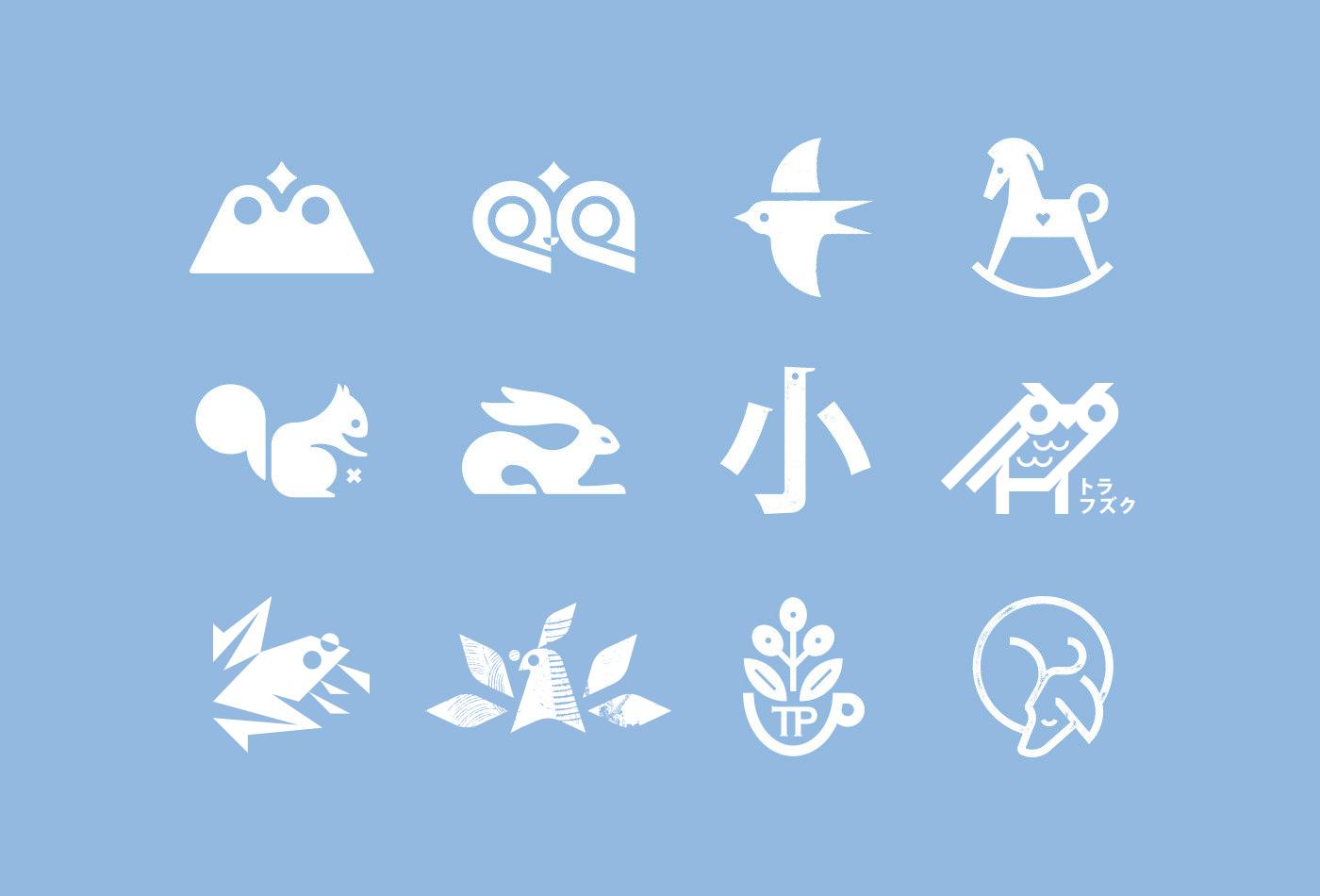 C-logo-symbol-logos-pictogram-marks-trademarks-trademark-glyph-icon-icons-logotype-collection-vacaliebres-birds-fukuro