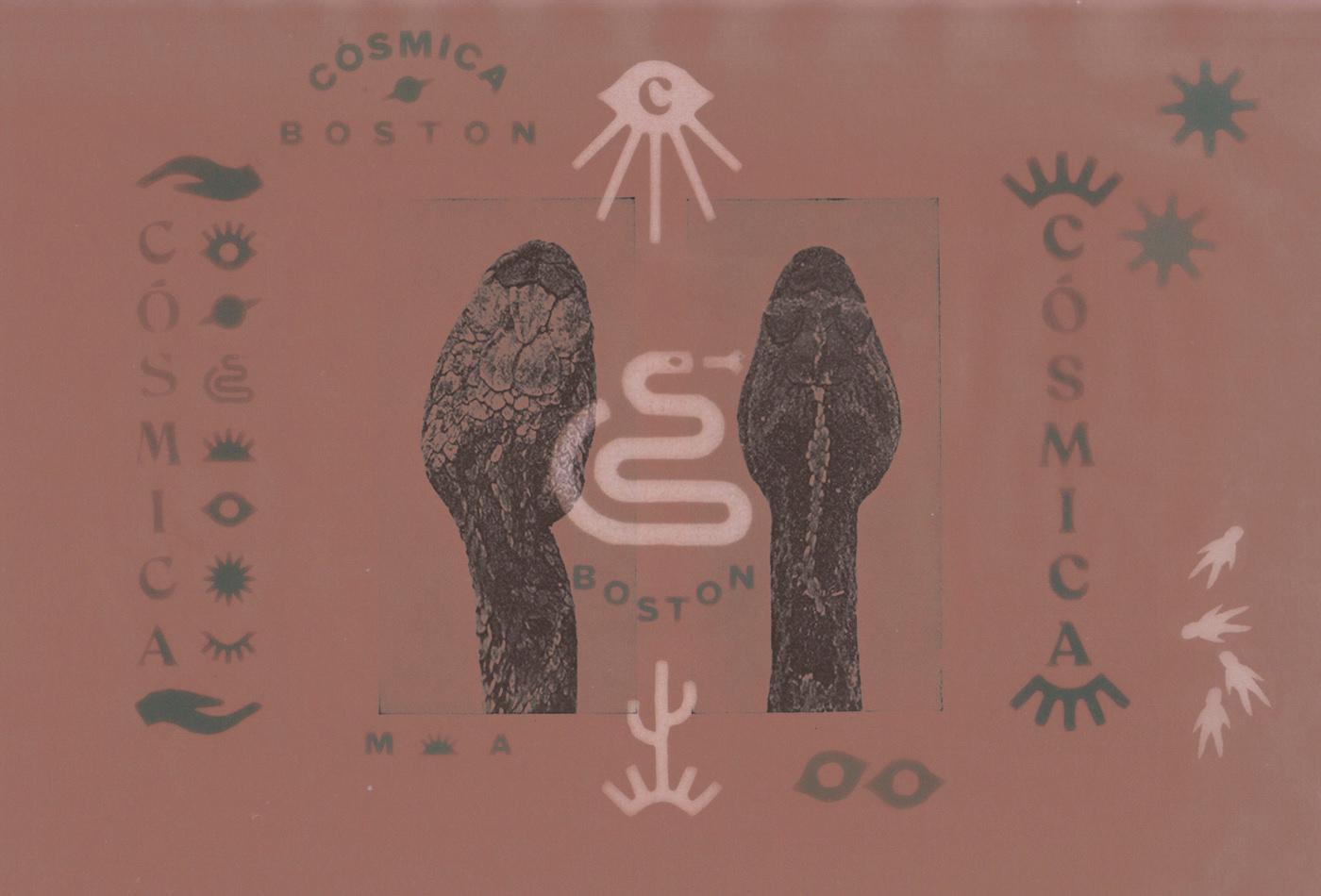 cosmica-boston-snake-casmic-eye-eyes-illuminati-secret-tacos-taco-calmmex-mexican-restaurant-vacaliebres-branding-logo-snake-astronauts