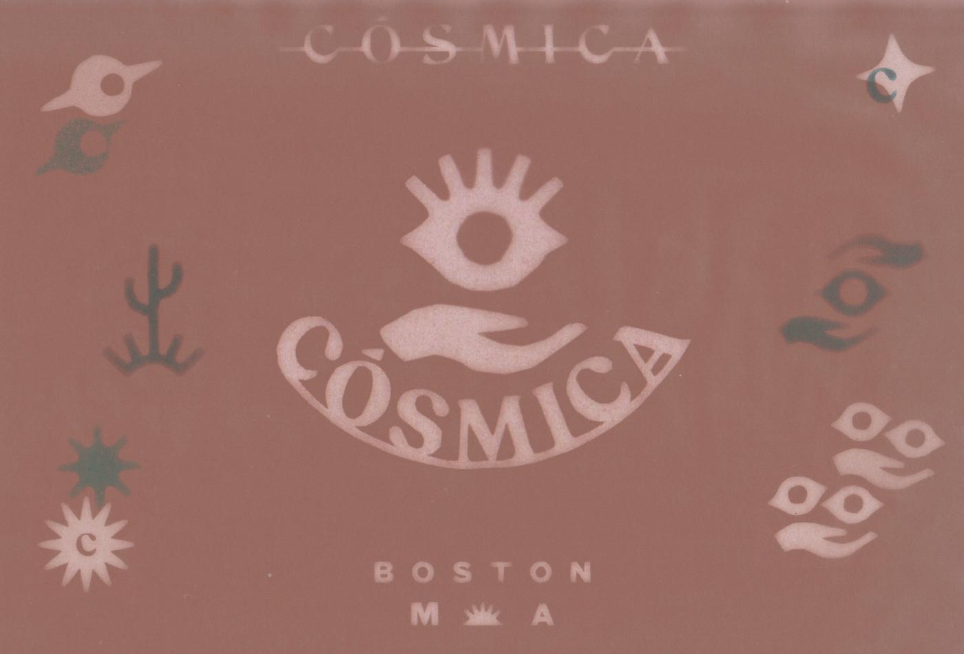 cosmica-cosmicaboston-boston-thebeehive-jackbardy-vacaliebres-branding-mexican-mexico-taco-tacos-cla-mex-logo-eye-cosmiceye-god-beams-sun-saturn