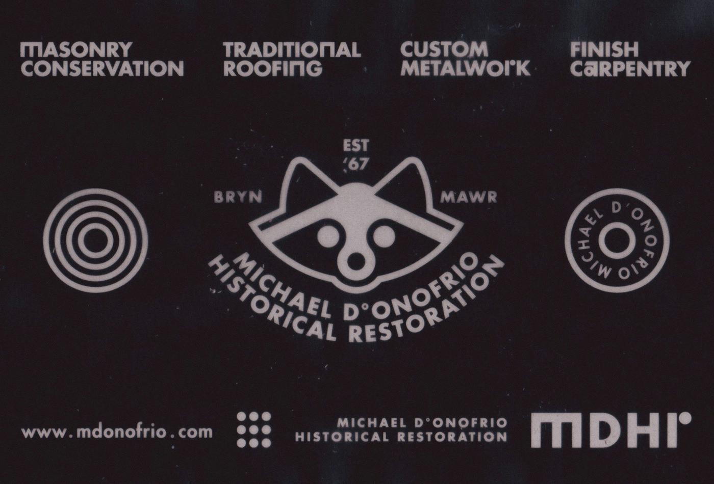 mdhr-historical-restoration-donofrio-michaeldonofrio-vacaliebres-markdonofrio-philly-mainline-raccoon-mascot-