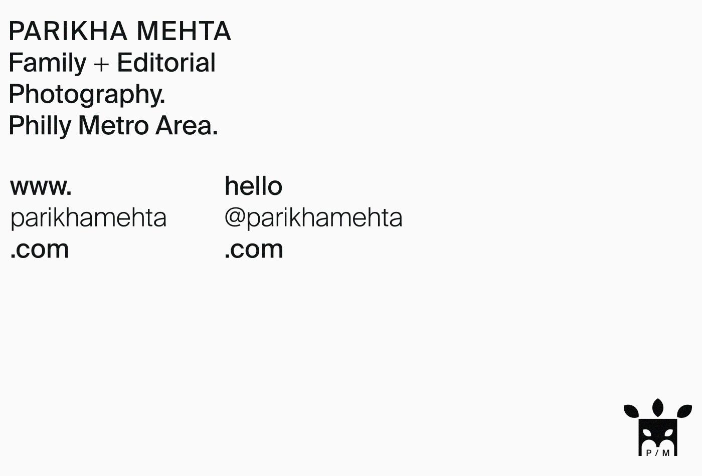 parikha-mehta-parikhamehta-photography-philadelphia-philly-family-editorial-pm-branding-brand-system-letterhead-invoice-vacaliebres-typeface