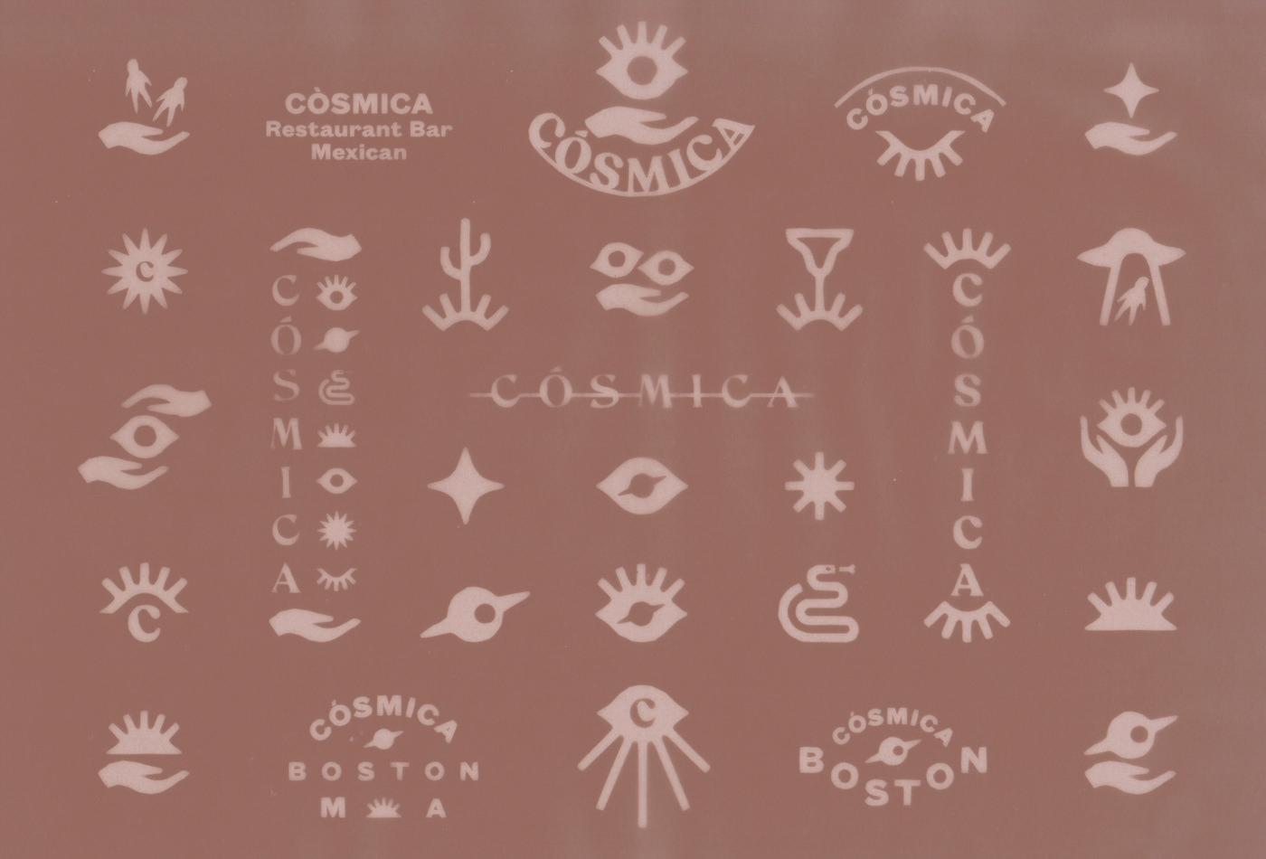 revolutionhotel-cosmica-cosmicaboston-boston-thebeehive-jackbardy-vacaliebres-branding-mexican-mexico-taco-tacos-cla-mex-logo-branding